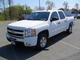 2011 Summit White Chevrolet Silverado 1500 LT Crew Cab #47292502