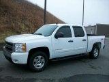 2008 Summit White Chevrolet Silverado 1500 Z71 Crew Cab 4x4 #47292508