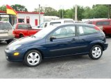 2003 Twilight Blue Metallic Ford Focus ZX3 Coupe #47292310