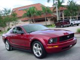 2006 Redfire Metallic Ford Mustang V6 Premium Coupe #441537