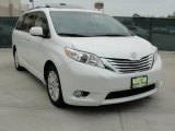 2011 Blizzard White Pearl Toyota Sienna Limited #47292112