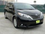 2011 Black Toyota Sienna XLE #47292113