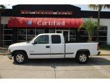 2002 Summit White Chevrolet Silverado 1500 LS Extended Cab #47291936