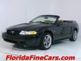2000 Black Ford Mustang V6 Convertible #441437