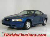 2000 Atlantic Blue Metallic Ford Mustang V6 Coupe #441358