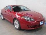 2008 Redfire Pearl Hyundai Tiburon GS #47292399