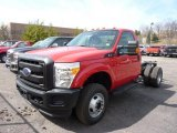 2011 Ford F350 Super Duty XL Regular Cab 4x4 Chassis Data, Info and Specs
