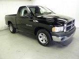 Black Dodge Ram 1500 in 2003