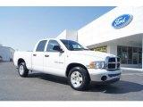 2004 Bright White Dodge Ram 1500 SLT Quad Cab #47292027