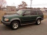 2001 Tropic Green Metallic Ford Explorer XLT 4x4 #47292232