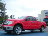 2011 Race Red Ford F150 XLT SuperCab #47350608