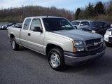 2004 Silver Birch Metallic Chevrolet Silverado 1500 LS Extended Cab 4x4 #47351133
