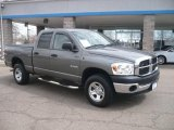 2008 Mineral Gray Metallic Dodge Ram 1500 ST Quad Cab 4x4 #47350630