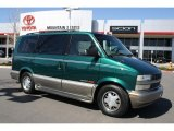 2001 Dark Forest Green Metallic Chevrolet Astro LT AWD Passenger Van #47350477