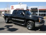 2003 Black Chevrolet Silverado 1500 Extended Cab 4x4 #47350479