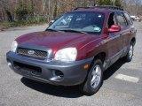 2004 Merlot Red Hyundai Santa Fe  #47350494