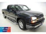 2004 Dark Gray Metallic Chevrolet Silverado 1500 Work Truck Extended Cab #47350788