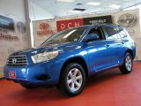 2008 Blue Streak Metallic Toyota Highlander 4WD #47351171