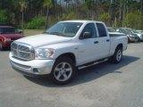 2008 Bright White Dodge Ram 1500 Big Horn Edition Quad Cab #47351016