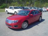 2010 Sangria Red Metallic Ford Fusion SEL V6 #47351019