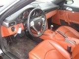 2007 Porsche 911 Targa 4 Black/Terracotta Interior