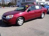 2005 Sport Red Metallic Chevrolet Malibu LS V6 Sedan #47351027