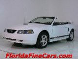 2002 Oxford White Ford Mustang V6 Convertible #441406