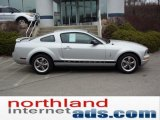 2006 Satin Silver Metallic Ford Mustang V6 Premium Coupe #47350538
