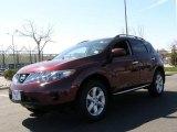 2009 Merlot Metallic Nissan Murano S AWD #47351225