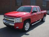 2011 Victory Red Chevrolet Silverado 1500 LT Extended Cab #47351096