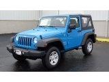 2011 Cosmos Blue Jeep Wrangler Sport 4x4 #47351328