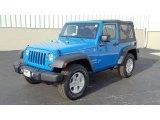 2011 Cosmos Blue Jeep Wrangler Sport S 4x4 #47351329