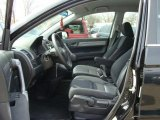 2009 Honda CR-V LX 4WD Black Interior