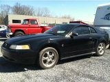 2000 Black Ford Mustang V6 Coupe #47402222