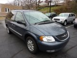 2002 Chrysler Town & Country Steel Blue Pearlcoat