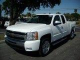 2011 Summit White Chevrolet Silverado 1500 LT Extended Cab 4x4 #47401927