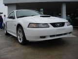 2001 Oxford White Ford Mustang GT Coupe #47402395