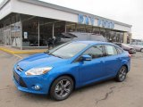 2012 Blue Candy Metallic Ford Focus SE Sport Sedan #47401936