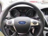 2012 Ford Focus SE Sport Sedan Steering Wheel