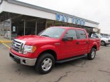 2010 Vermillion Red Ford F150 XLT SuperCrew 4x4 #47401937