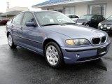 2003 Steel Blue Metallic BMW 3 Series 325i Sedan #47402409