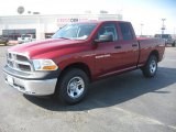 2011 Deep Cherry Red Crystal Pearl Dodge Ram 1500 ST Quad Cab 4x4 #47402247