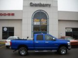 2008 Electric Blue Pearl Dodge Ram 1500 ST Quad Cab 4x4 #47401971
