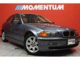 2001 Steel Blue Metallic BMW 3 Series 325i Sedan #47402313