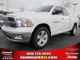 2011 Bright White Dodge Ram 1500 Big Horn Quad Cab #47402013