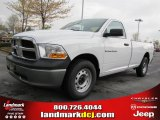 2011 Bright White Dodge Ram 1500 ST Regular Cab #47402015