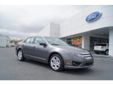 2011 Sterling Grey Metallic Ford Fusion SE #47402025