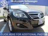 2011 Deep Black Metallic Volkswagen Tiguan SEL #47402603