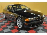 2001 Jet Black BMW 3 Series 325i Coupe #47402358
