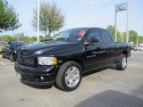 2003 Black Dodge Ram 1500 SLT Quad Cab #47445424